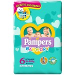 Pannolini Pampers Baby Dry ExtraLarge 15-30 Kg Misura 6 (14pz)