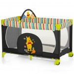 Lettino da Campeggio Disney Dream'n Play Go Pooh Tidy Time + Arcogiochi