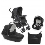 Chicco Trio Sprint Poussette Black Night Noir