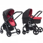 Passeggino Duo Chicco Urban Plus Red Passion