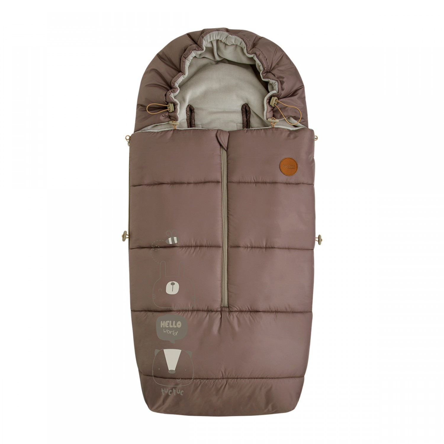 Tuc Tuc Wintertasche für Kinderwagen  Heady Brown