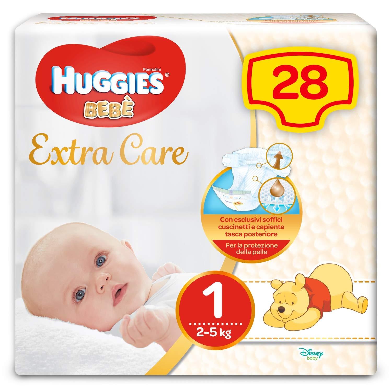 Image of Huggies Baby, 28 Luiers, maat 1 (2–5 kg)