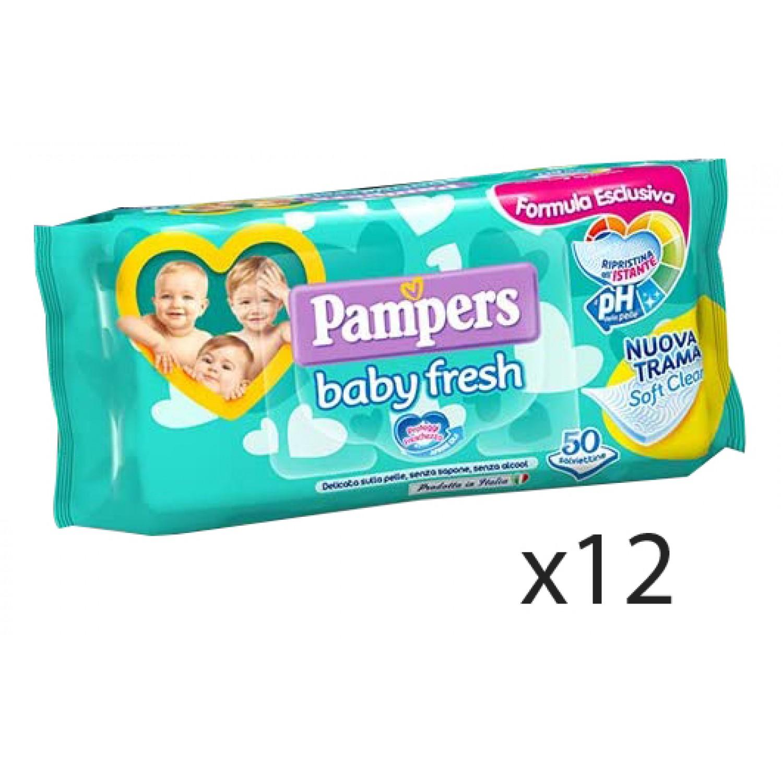 Image of Pampers Baby Fresh Tücher 12 Packungen à 50 stuks
