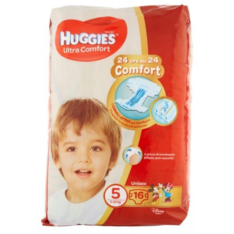 Image of Huggies Ultra Comfort Luiers 11-25 kg maat 5 (16 stuks)