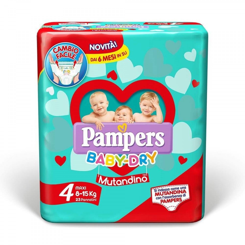 Image of Pampers Baby Dry Luiers 4 - 23 stuks